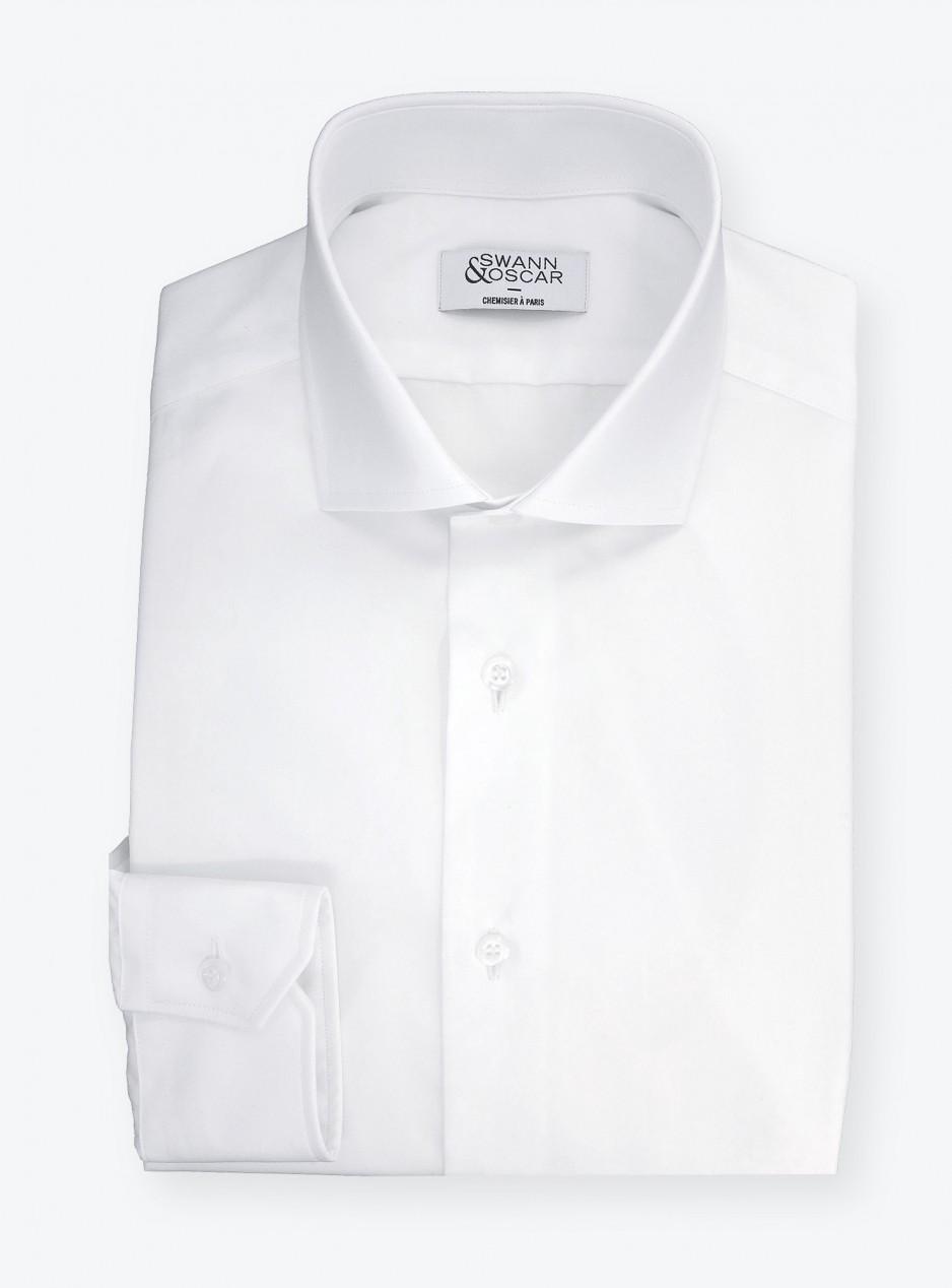Shirt Twill Plain White
