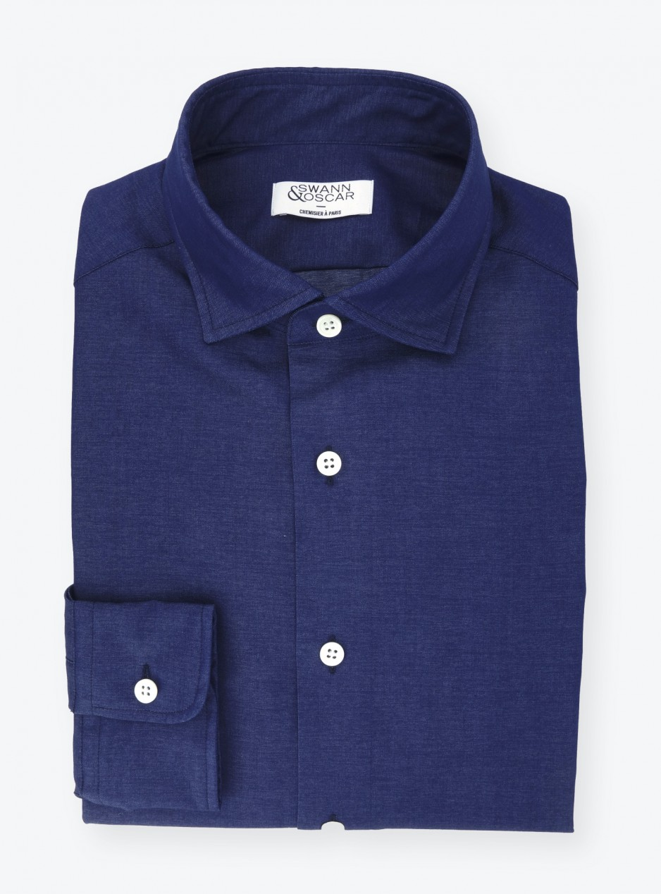 Shirt Plain Blue