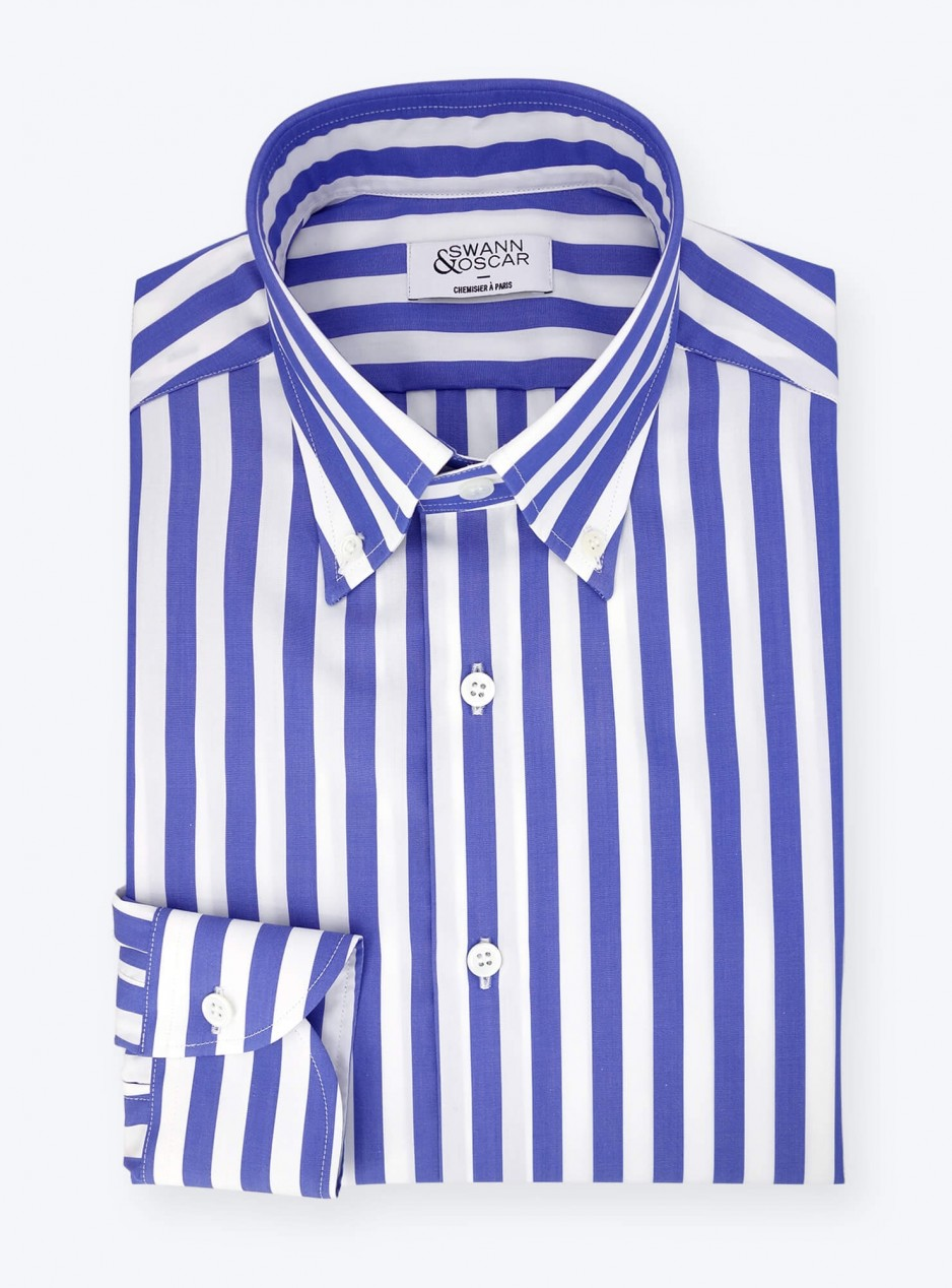 Blue Butcher Stripes Shirt