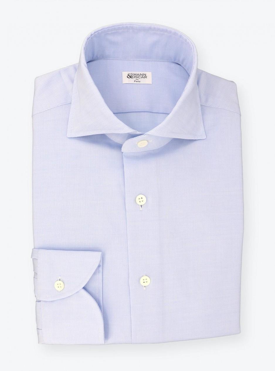 Shirt Oxford Plain Blue
