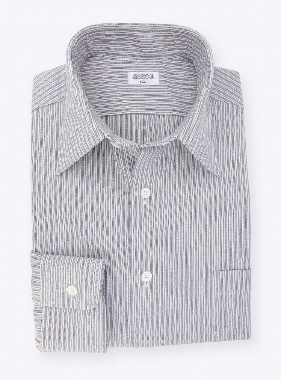 Shirt Oxford Stripes Blue
