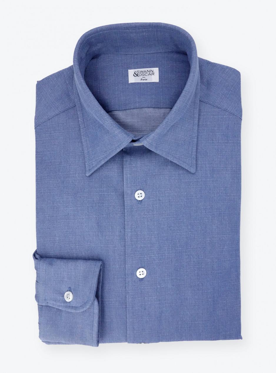 Shirt Plain Blue