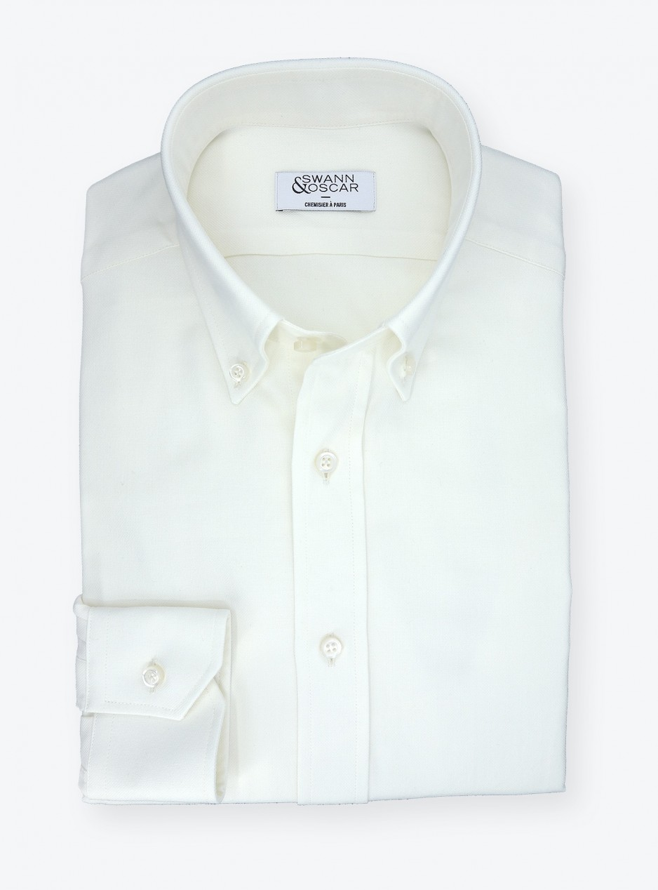 Wool blend shirt