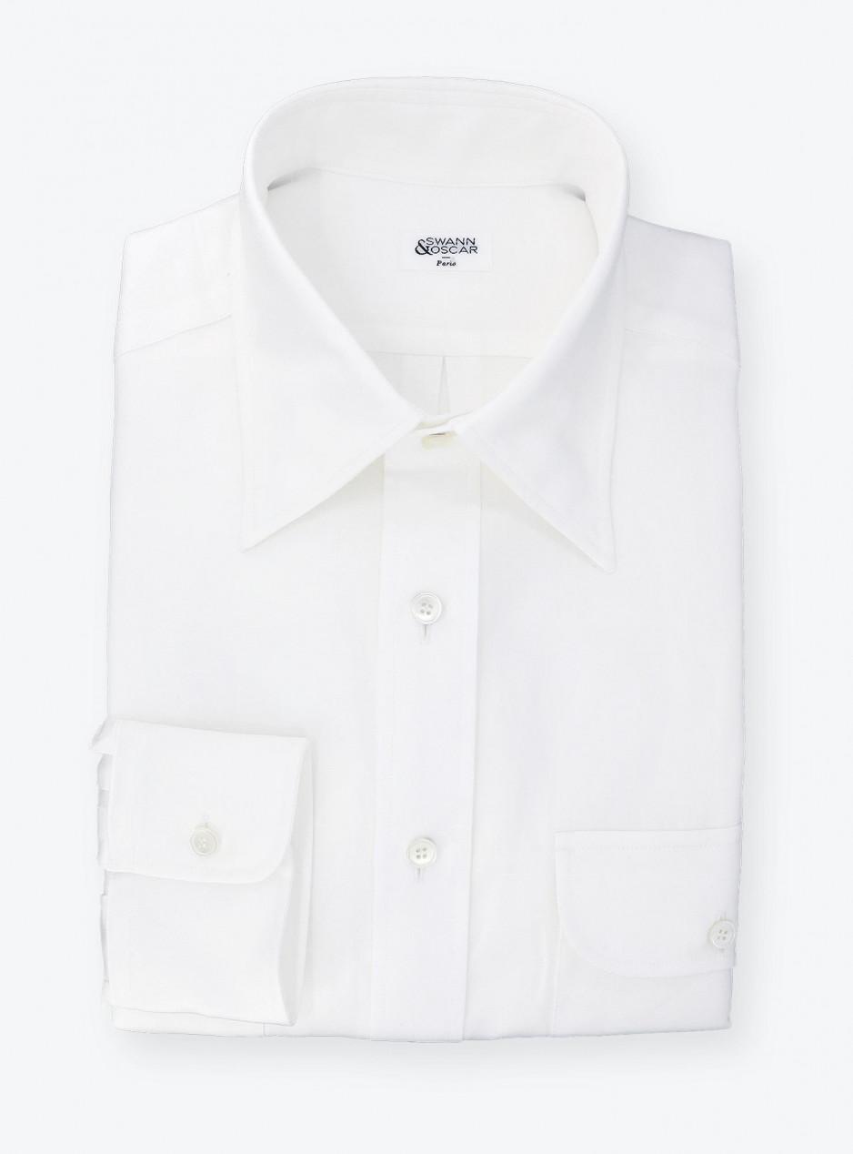 Shirt Oxford Plain White