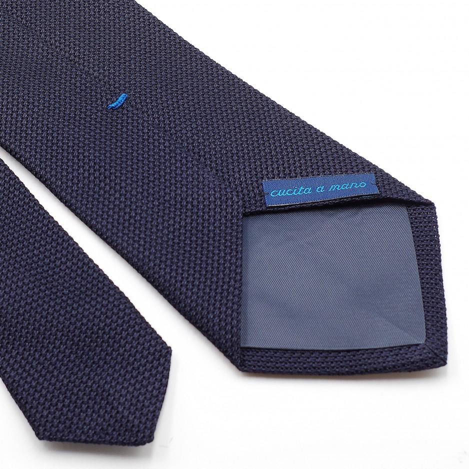 Grenadine «Garza Fina» Silk Tie Blue