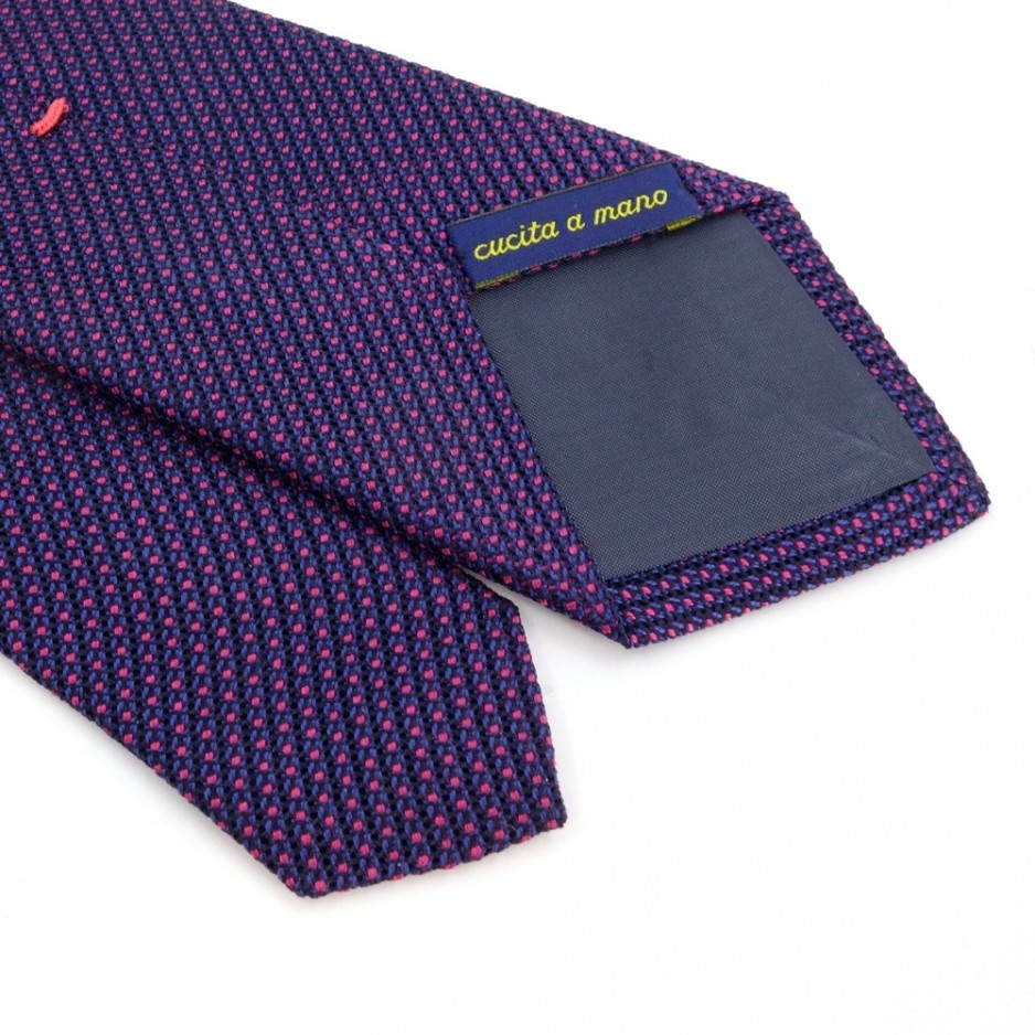Blue and Pink Tie