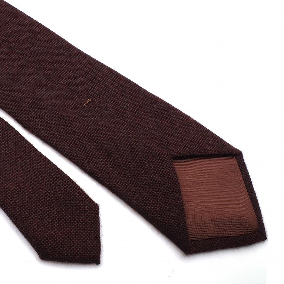 Brown Cashemire Tie