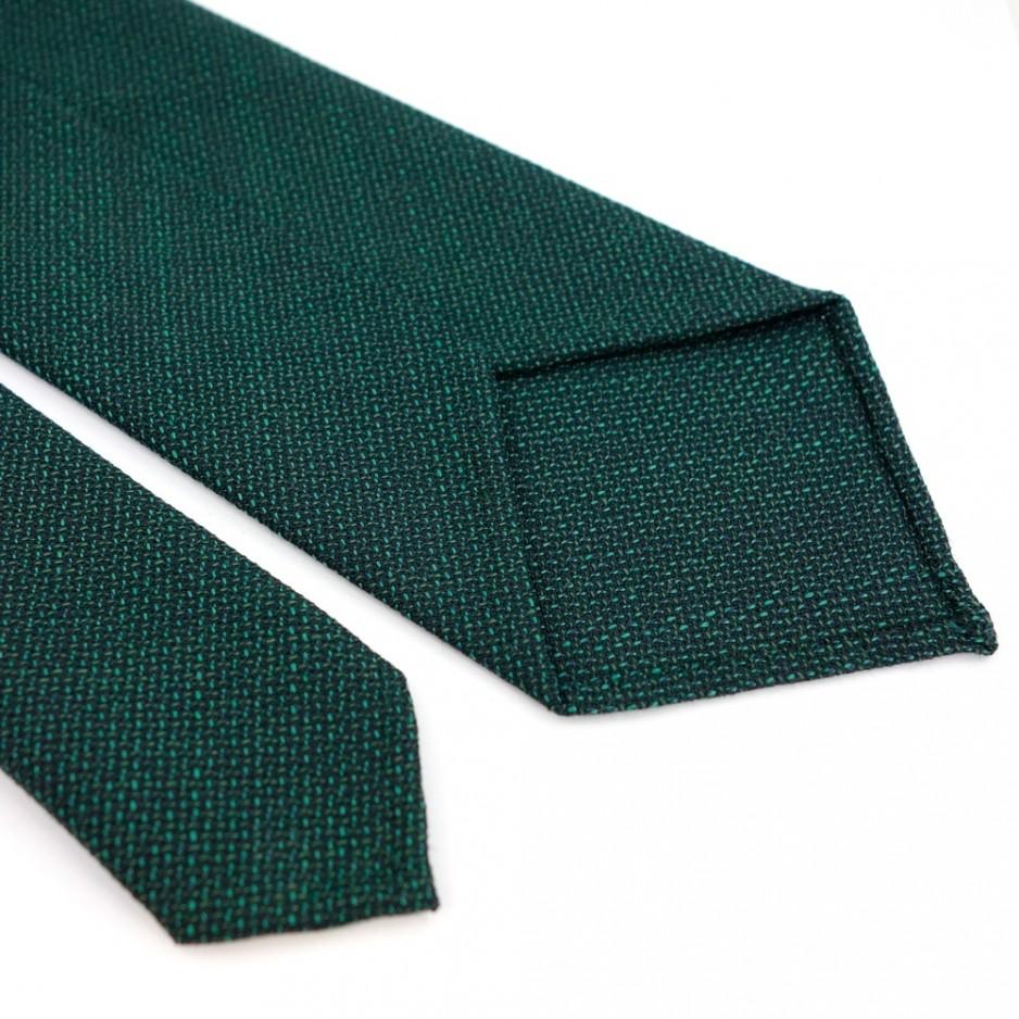 Green Wool Tie