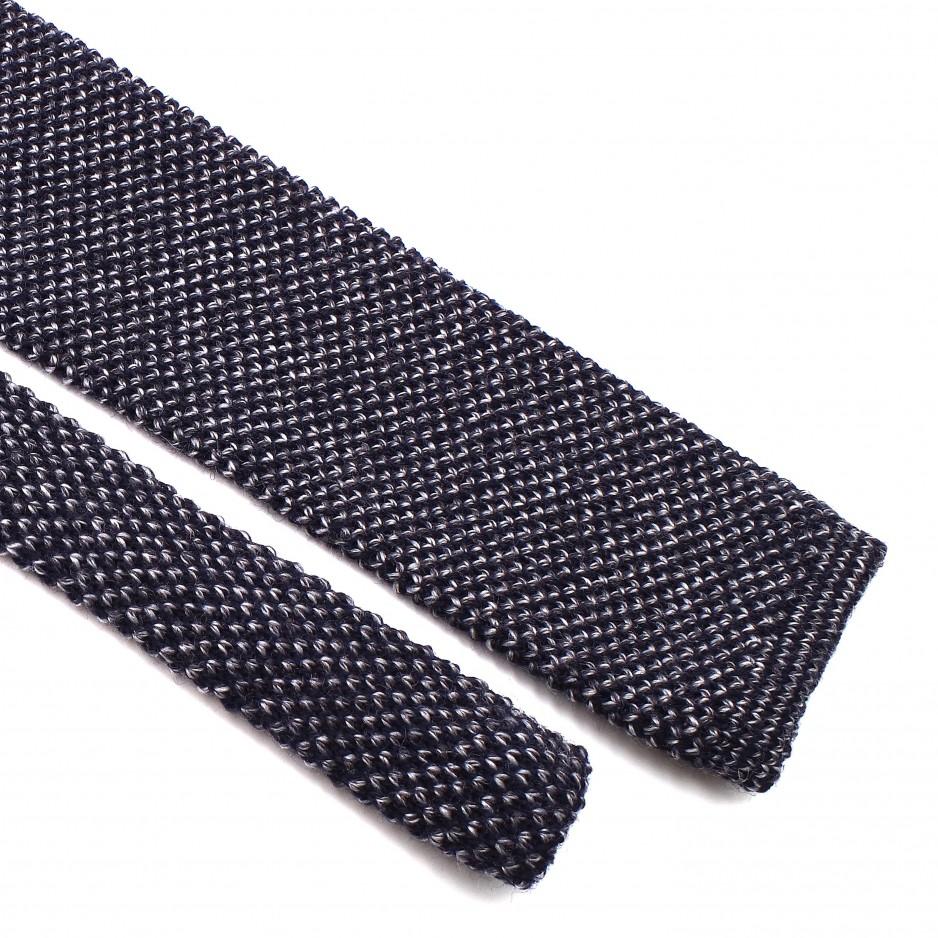 Grey Wool Tie
