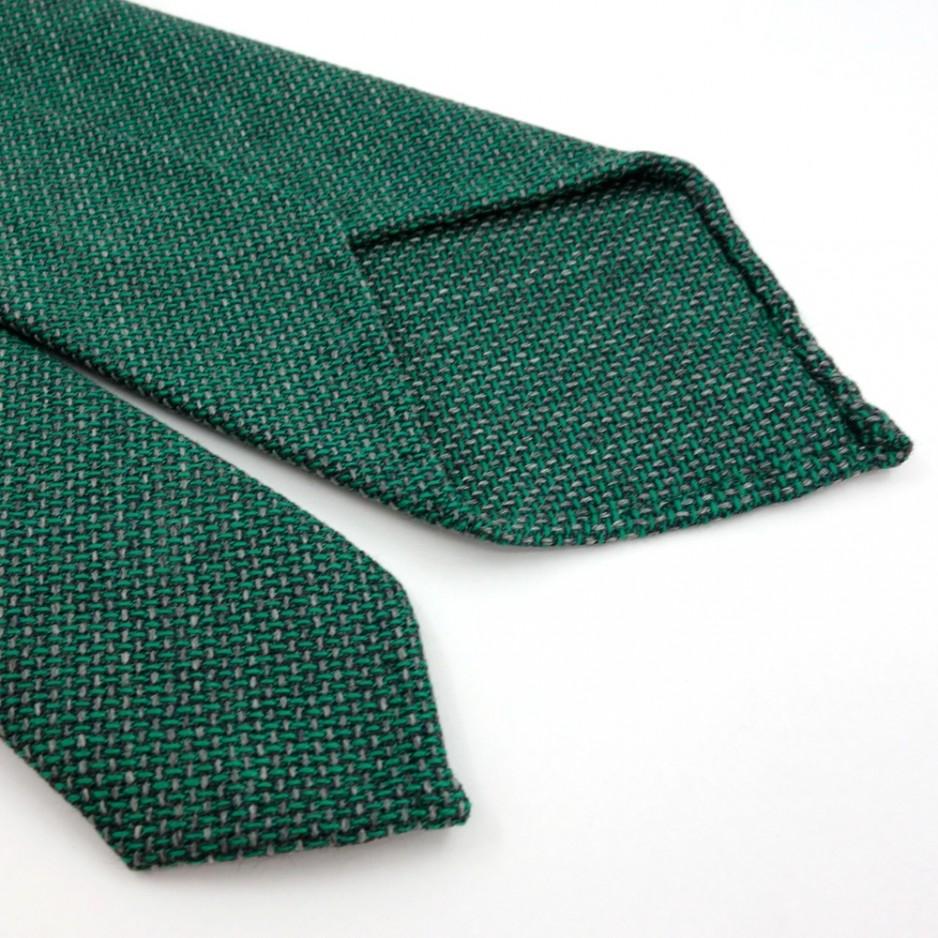 Light Green Wool Tie