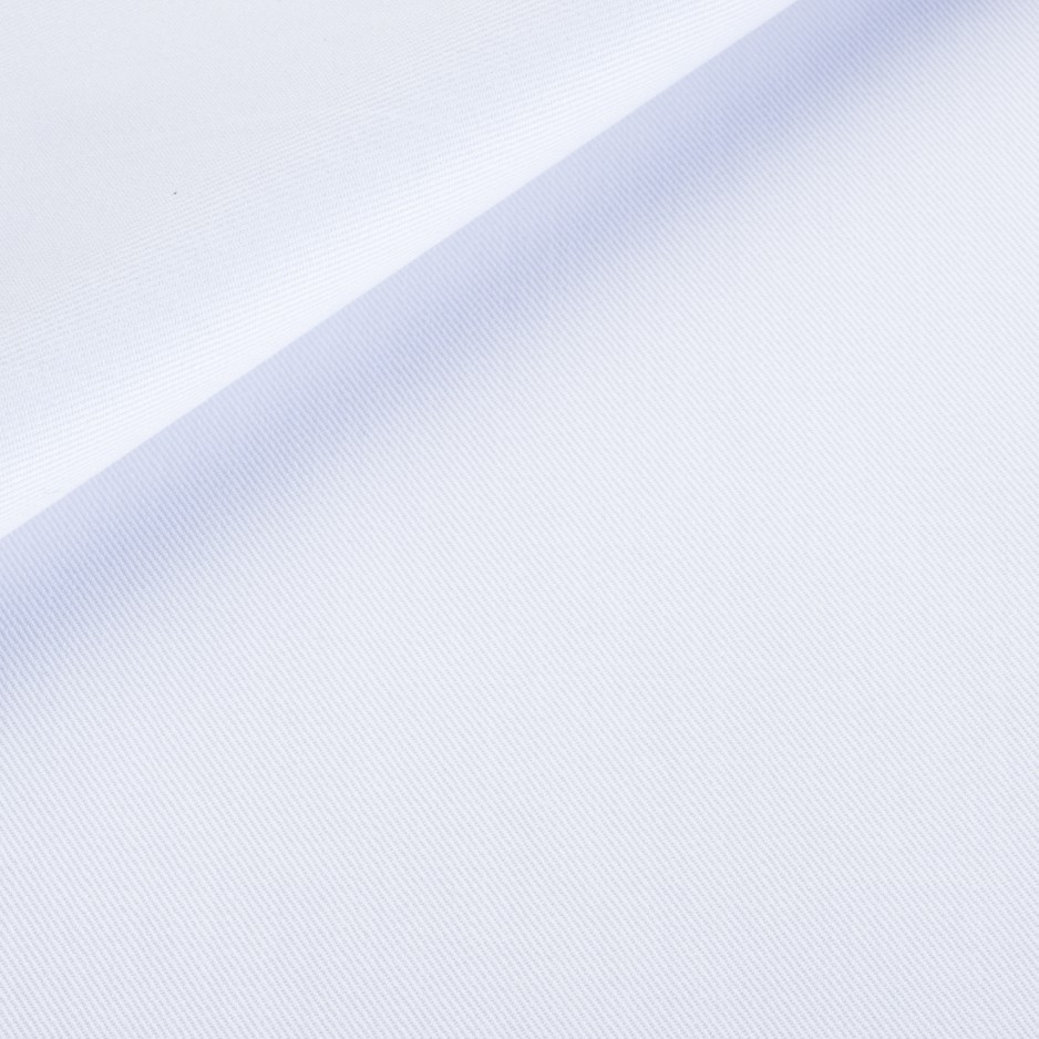 Twill Plain White
