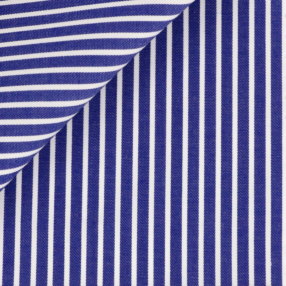 Twill Blue Stripes