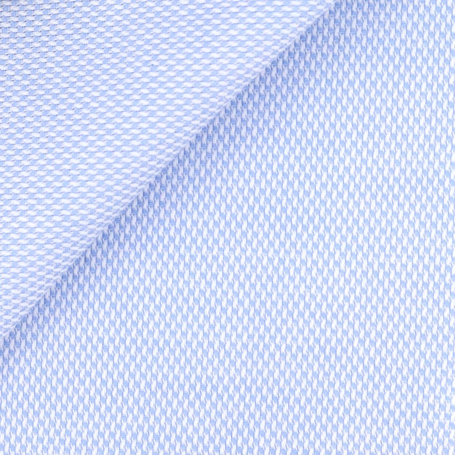 Plain Blue Oxford