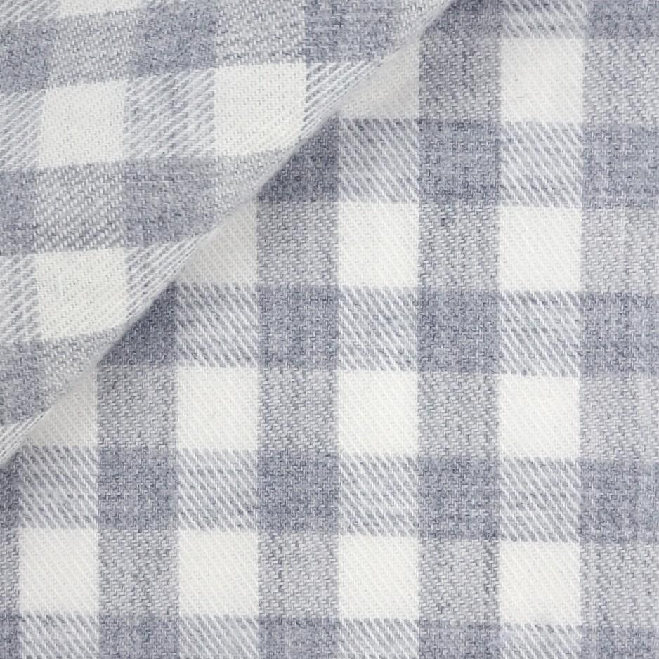 Twill Check Pattern Grey