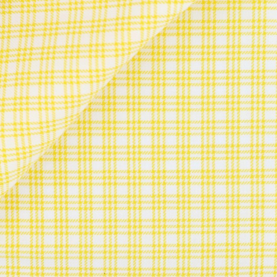 Twill Check Pattern Yellow