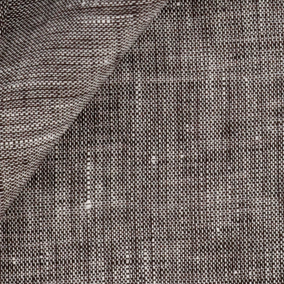 Linen Plain Brown