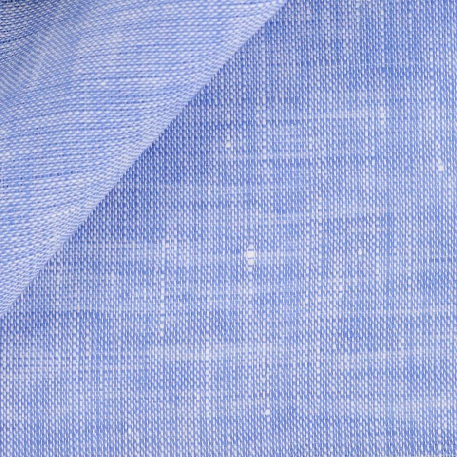 Linen Plain Blue