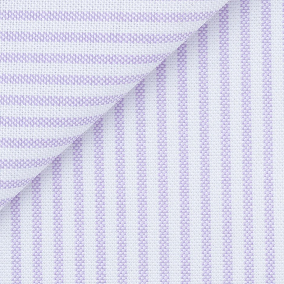 Oxford Stripes Mauve