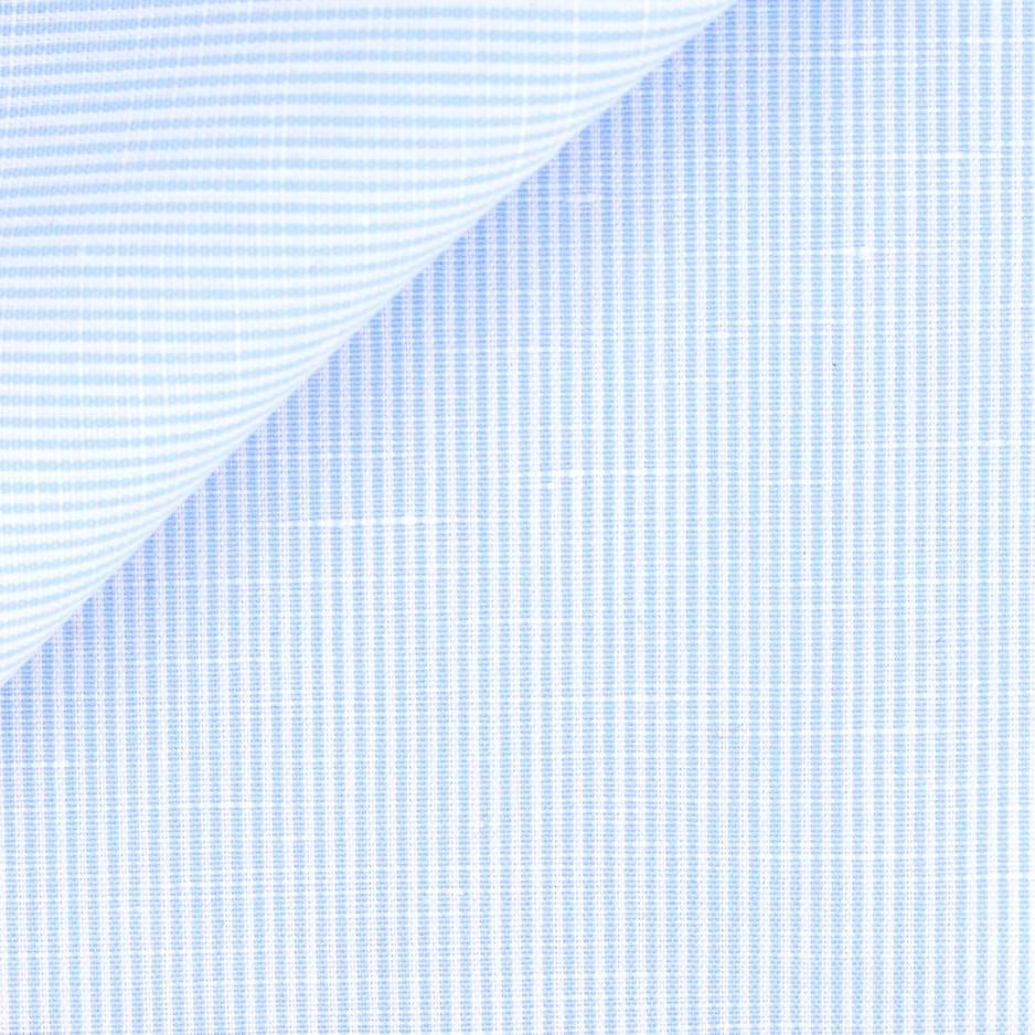 Blue Stripes Linen