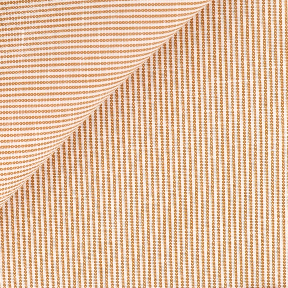Brown Stripes Linen