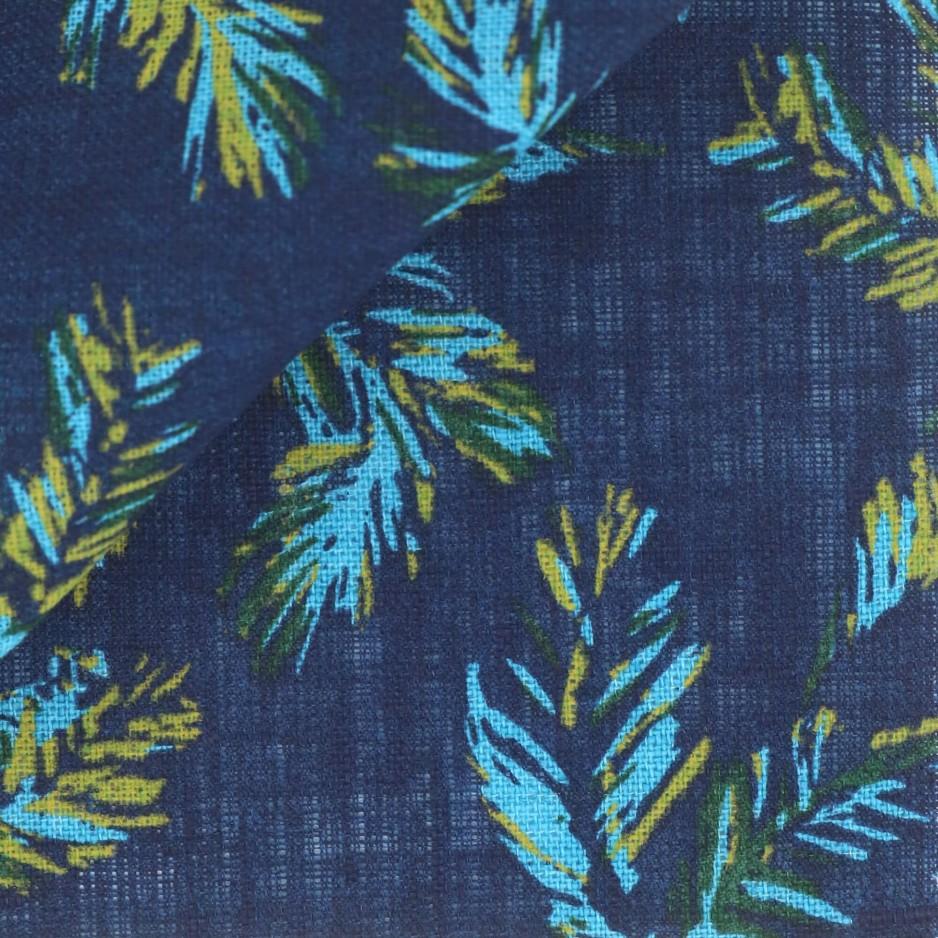 Blue Pattern Linen