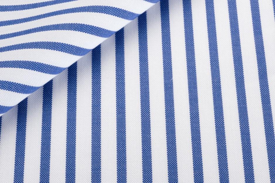 Pin Point Stripes Blue