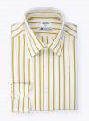 Shirt Poplin Stripes Yellow