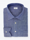 Blue Japanese Chambray Shirt