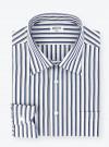 Shirt Poplin Stripes Blue