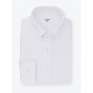 Plain White Oxford Shirt