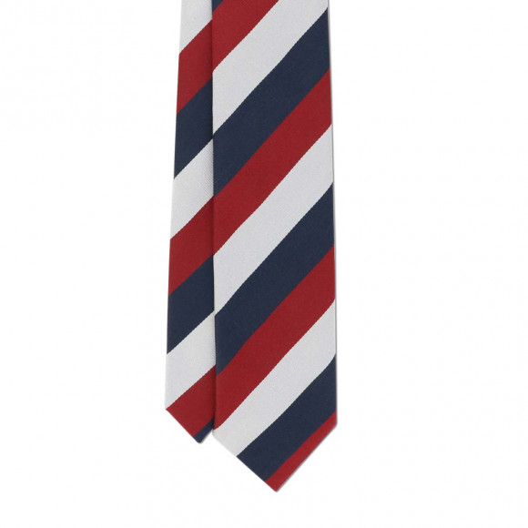 Club Tie Blue Red White