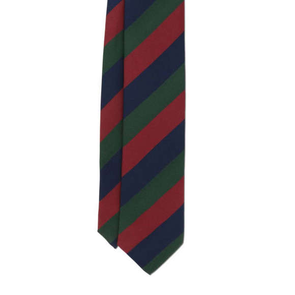 Club Tie Blue Red Green