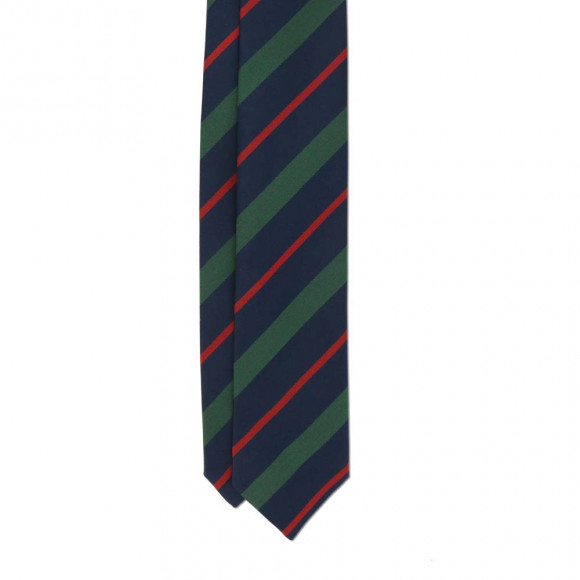 Club Tie Red Blue Green
