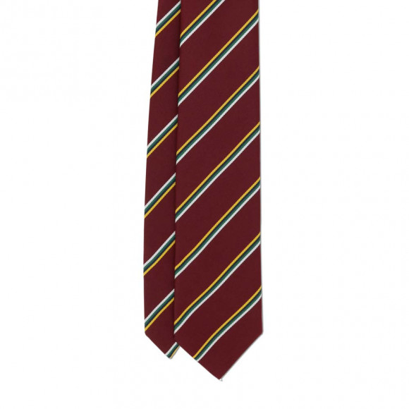 Club Tie Red Yellow White