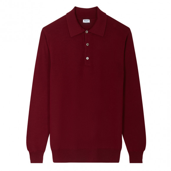 Bordeaux Polo knitwear