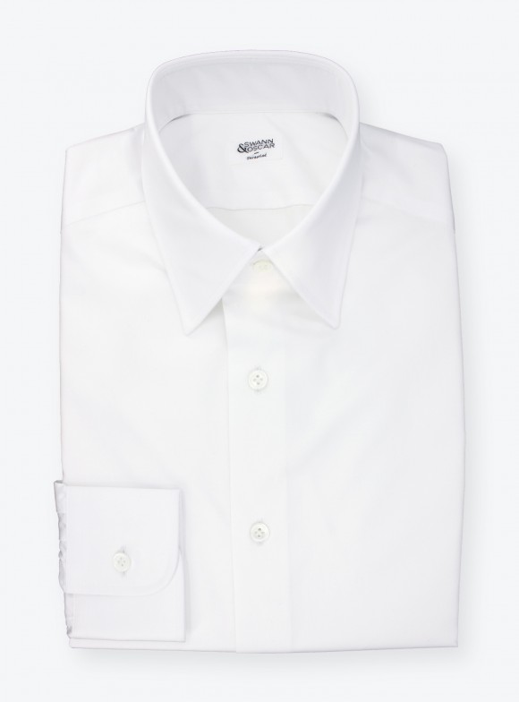 Shirt Twill Plain White
