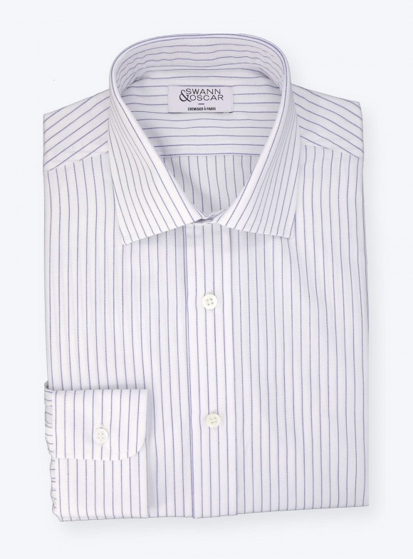 Shirt Mixed Stripes Blue