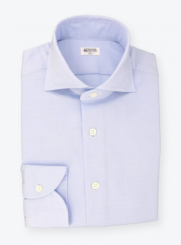 Shirt Oxford Plain Blue