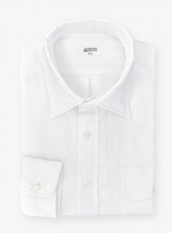 Cotton / Linen White Shirt