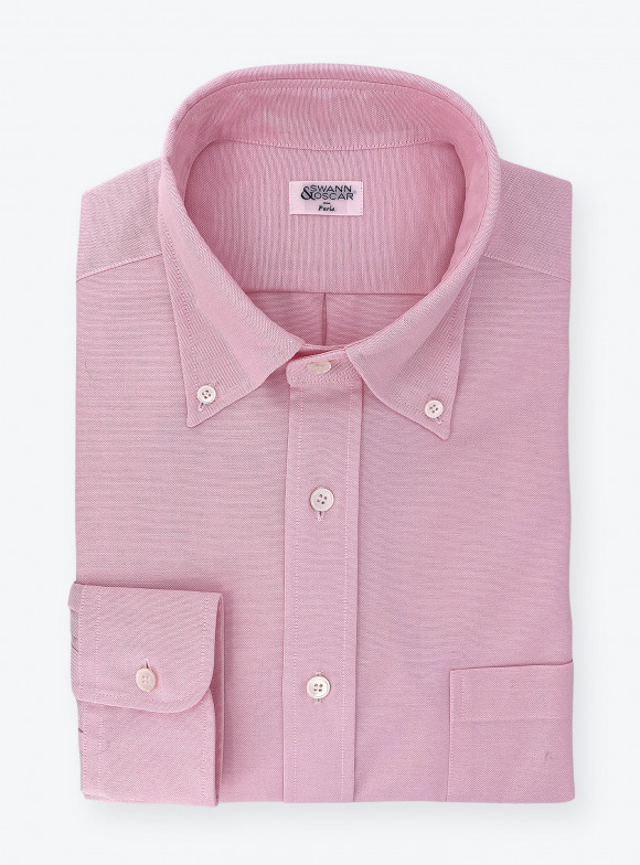 Shirt Oxford Plain Pink