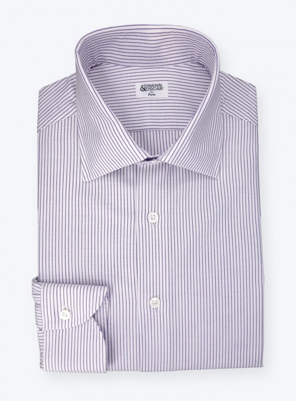 Shirt Oxford Stripes Blue