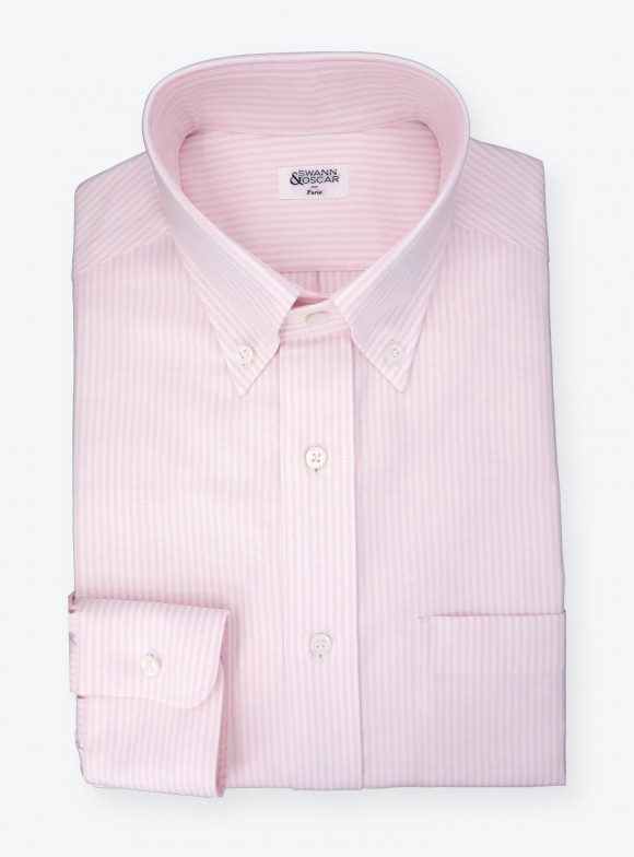 Shirt Oxford Stripes Pink