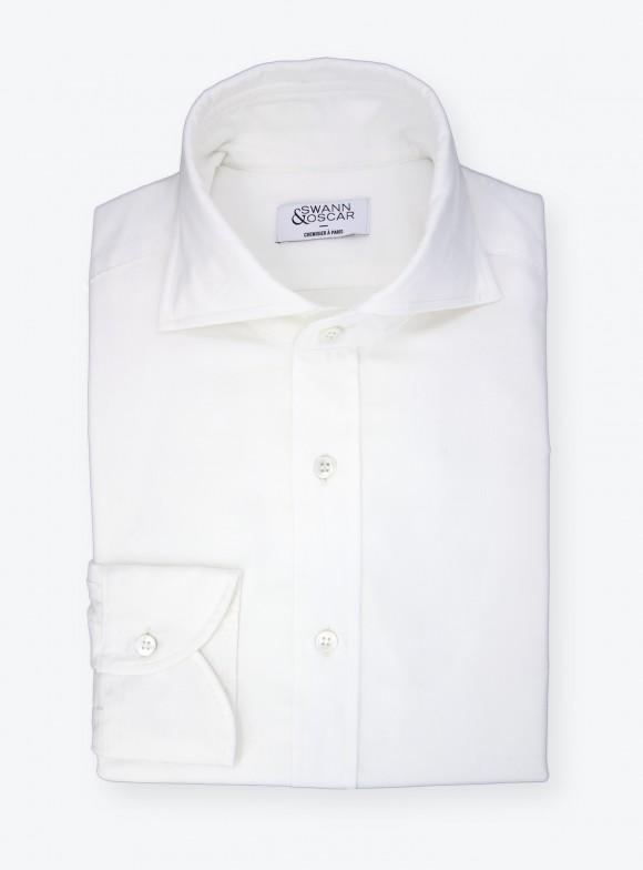 Ivory Velvet Shirt