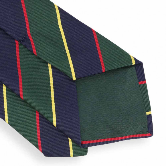 Green and Blue Club Tie