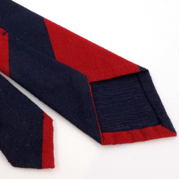 Red and Navy Club Tie