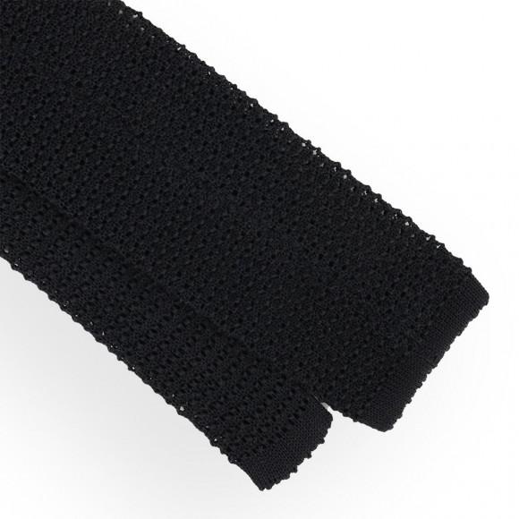 Black Jersey Tie