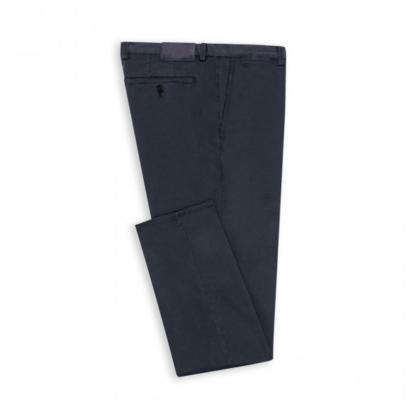 Formal Chino navy twill