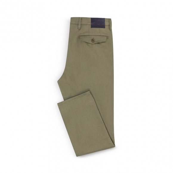 Classic Chino olive twill