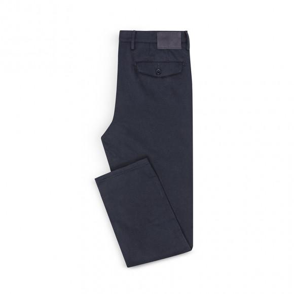 Classic Chino navy blue twill
