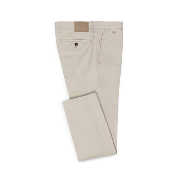 Formal Chino putty twill